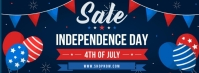 Independence Day Sale Template Facebook Cover Photo