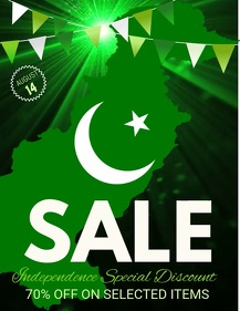 Independence Day sale Video,Event flyer video