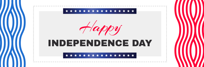 Independence Day Wish Email Header template