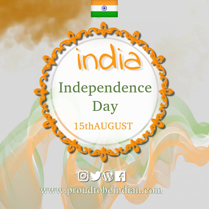india day video1 Instagram Plasing template