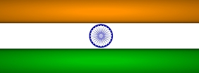 India Flag Cover Template