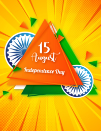 India Independence day,event,15 august template