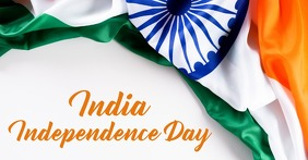 India Independence day,event Facebook Shared Image template