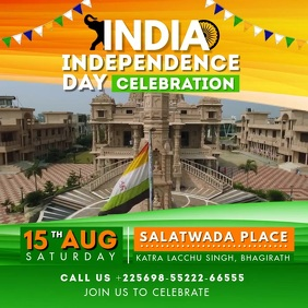 India Independence Day Video Invite