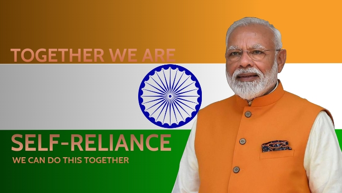 India Self Reliance Template Facebook Cover Video (16:9)