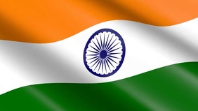 Indian Flag Waving Premium Video Template