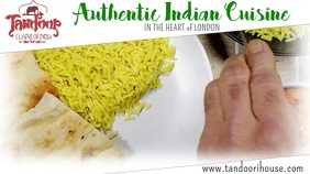 Indian Food Curry Video Ad Template