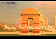 Indian independence day 11 A4 template