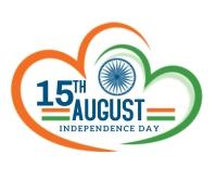 Indian Independence Day design Umugqa Omkhulu template