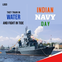 indian navy day template