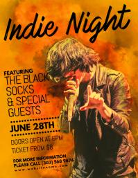 Indie Night Flyer