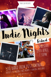 Indie Nights Poster