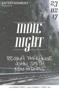 indie Flyer Template