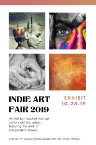 Indie SF Art Fair Poster