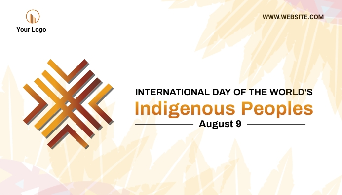 Indigenous Peoples Day Blog Header template