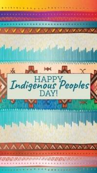Indigenous Peoples Day-Instagram Story Instagram-verhaal template