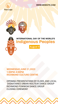Indigenous Peoples Day Instagram Story template
