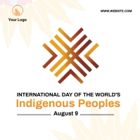 Indigenous Peoples Day social media post Carré (1:1) template