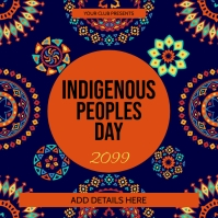 Indigenous Peoples Day Template Pos Instagram