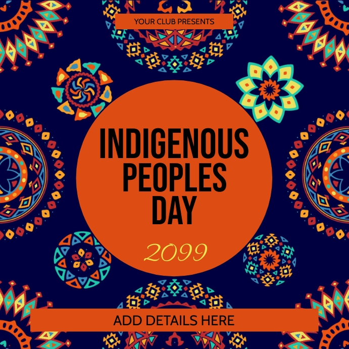 Indigenous Peoples Day Template Instagram Post