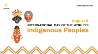 Indigenous Peoples Day Twitter post template