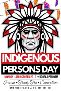 Indigenous Persons Day Poster