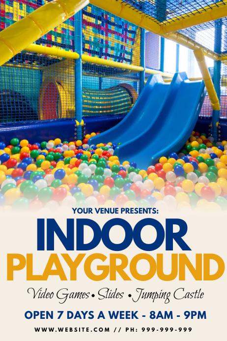 Indoor Playground Poster