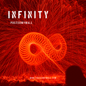 Infinity CD Cover template