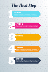 Infographic for options