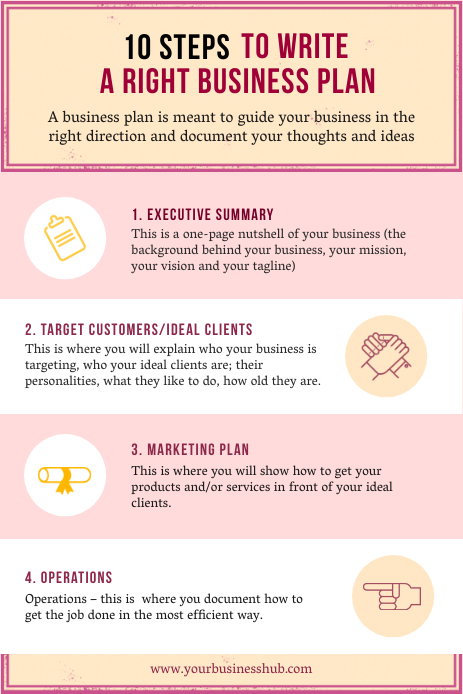 Infographic Pinterest 1 template