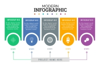 infographics Banier 4'×6' template
