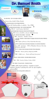 Infography/Biography 易拉宝 3' × 6' template