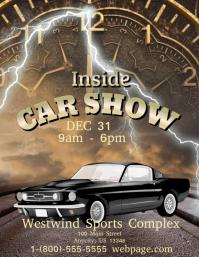 Inside Car Show