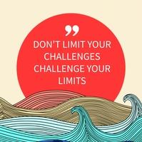 Inspiration Quotes Instagram Facebook Templat Instagram-Beitrag template
