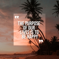 Inspiration Quotes Instagram Template