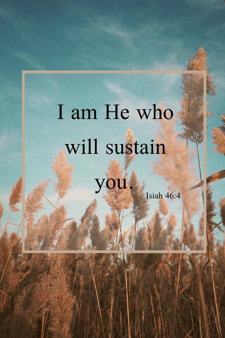 Inspirational Bible Verse Tumblr-afbeelding template