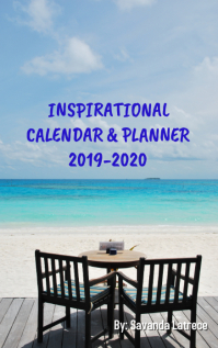 Inspirational Calendar Cover Portada de Kindle template