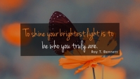 inspirational Blog Header template