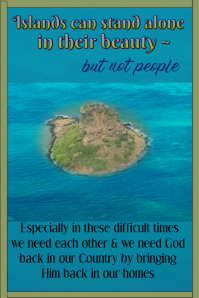Inspirational Island Poster