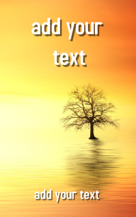 Inspirational Novel Book Cover Design template