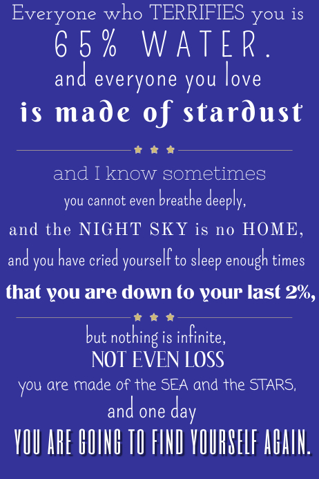 Inspirational Poetry Poster