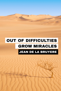 inspirational poster desert difficulty poster