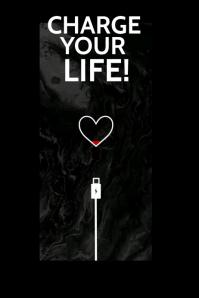 Inspirational poster Banner 4' × 6' template