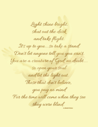 photo regarding High Flight Poem Printable referred to as 70+ Poem Customizable Layout Templates PosterMyWall