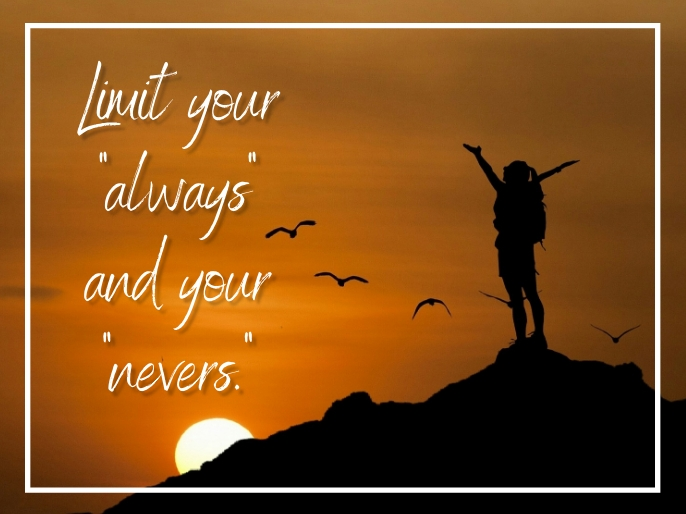 Inspirational Quotes Voorlegging template