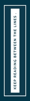inspirational simple bookmark Half Page Legal template