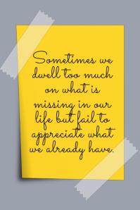 inspirational template Poster