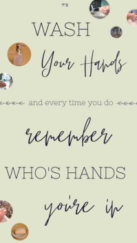 Inspirational Washing Hands