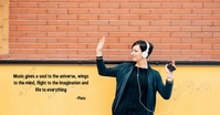 INSPIRING MUSIC QUOTES THAT WILL FUEL YOUR SO Immagine condivisa di Facebook template