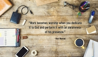 Inspiring quotes about worship Tanda template